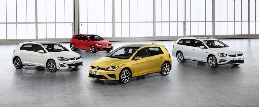 Volkswagen Golf facelift unveiled – Mk7 gets revamped Image #577693