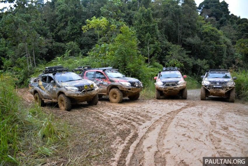 Borneo Safari Off-road Challenge 2016 with the new Mitsubishi Triton 2.4L MIVEC – one for the bucket list Image #590748