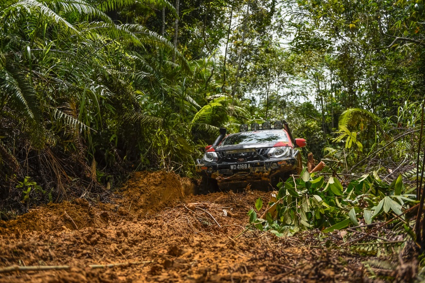 Borneo Safari Off-road Challenge 2016 with the new Mitsubishi Triton 2.4L MIVEC – one for the bucket list Image #590837