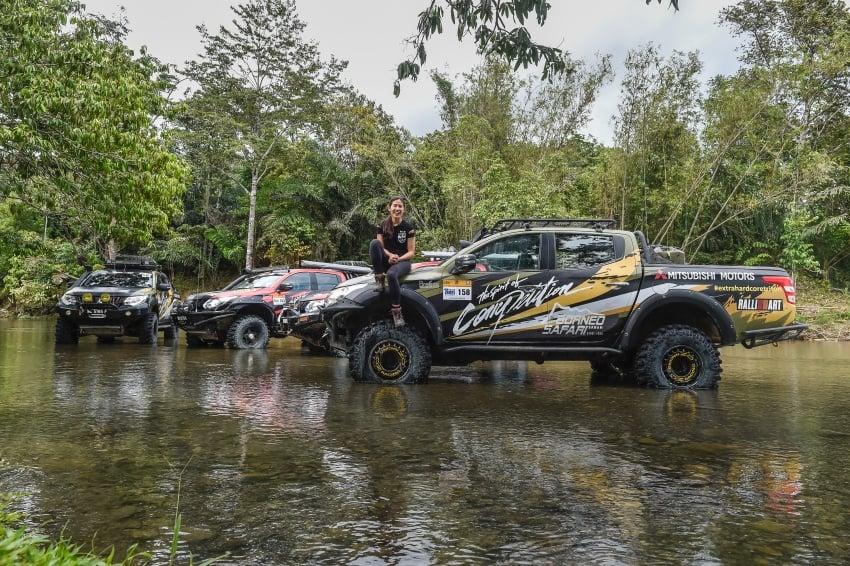 Borneo Safari Off-road Challenge 2016 with the new Mitsubishi Triton 2.4L MIVEC – one for the bucket list Image #590845