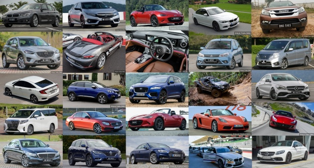 The Paultan Org 2016 Top Five Cars List The Writers Each Pick Five