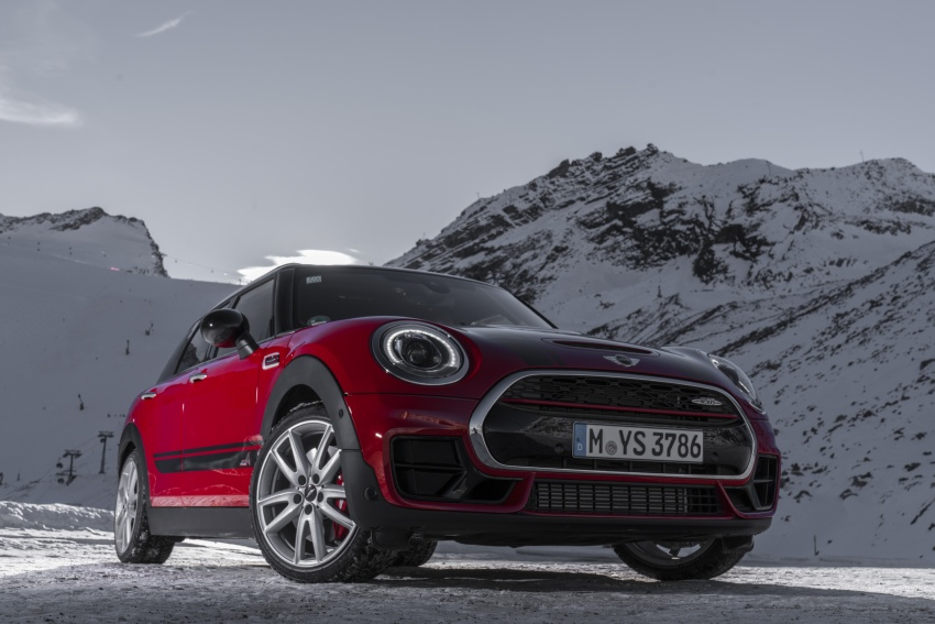 GALLERY: MINI John Cooper Works Clubman shown Image #592531