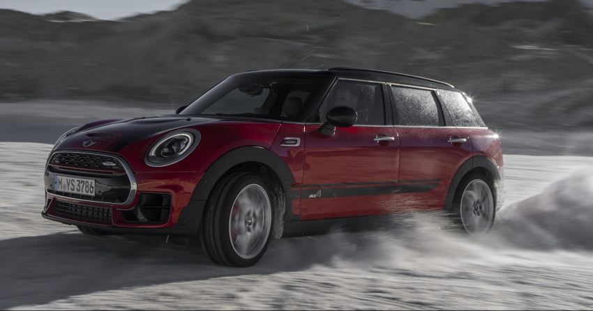 GALLERY: MINI John Cooper Works Clubman shown Image #592533