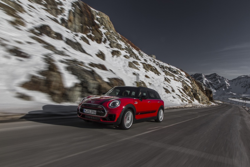 GALLERY: MINI John Cooper Works Clubman shown Image #592535