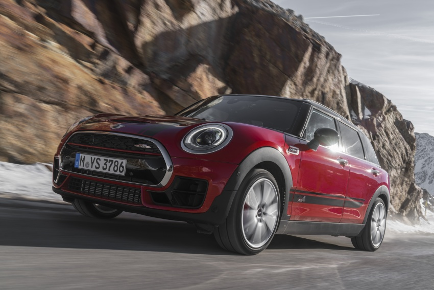 GALLERY: MINI John Cooper Works Clubman shown Image #592518
