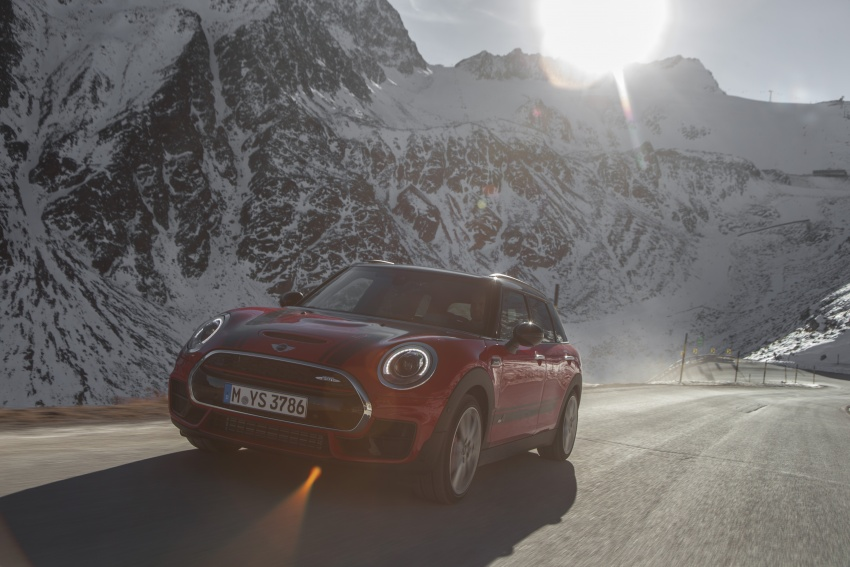 GALLERY: MINI John Cooper Works Clubman shown Image #592538