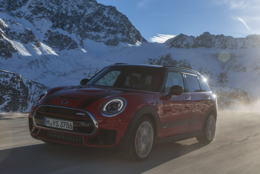 GALLERY: MINI John Cooper Works Clubman shown Image #592541