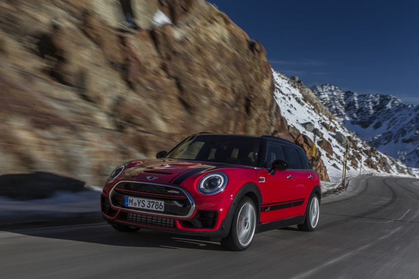 GALLERY: MINI John Cooper Works Clubman shown Image #592546