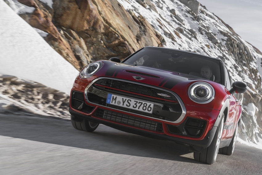 GALLERY: MINI John Cooper Works Clubman shown Image #592519