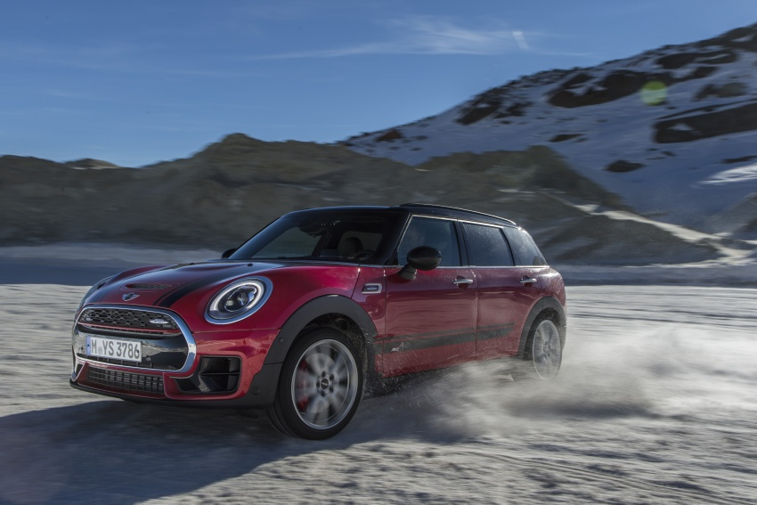 GALLERY: MINI John Cooper Works Clubman shown Image #592549