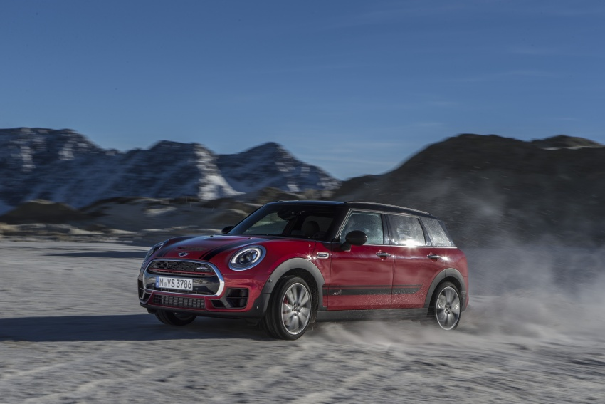 GALLERY: MINI John Cooper Works Clubman shown Image #592551