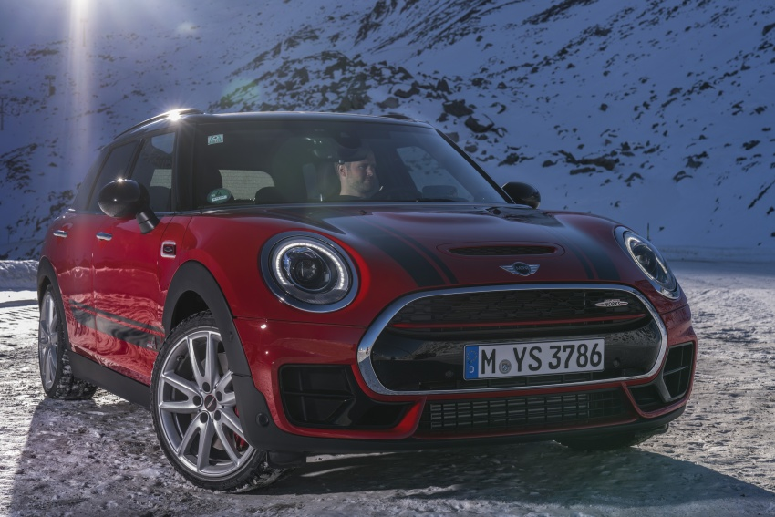 GALLERY: MINI John Cooper Works Clubman shown Image #592554