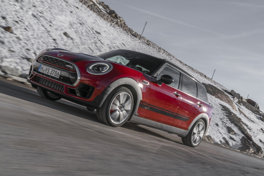 GALLERY: MINI John Cooper Works Clubman shown Image #592520