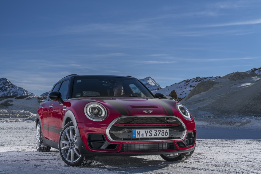 GALLERY: MINI John Cooper Works Clubman shown Image #592561