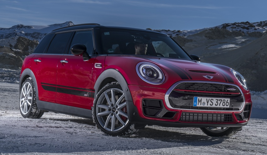 GALLERY: MINI John Cooper Works Clubman shown Image #592562