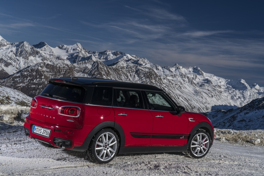 GALLERY: MINI John Cooper Works Clubman shown Image #592563