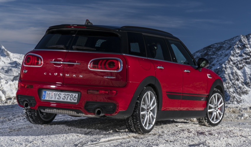 GALLERY: MINI John Cooper Works Clubman shown Image #592564