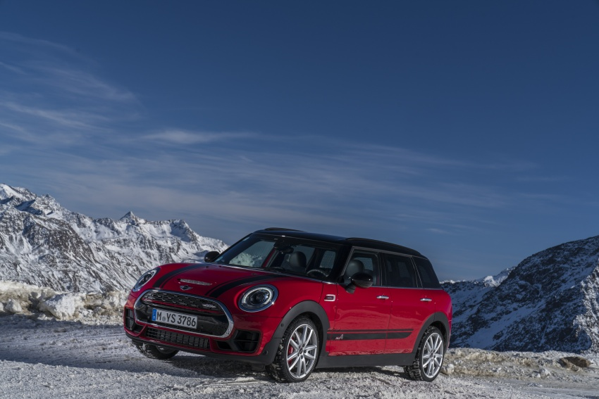 GALLERY: MINI John Cooper Works Clubman shown Image #592565