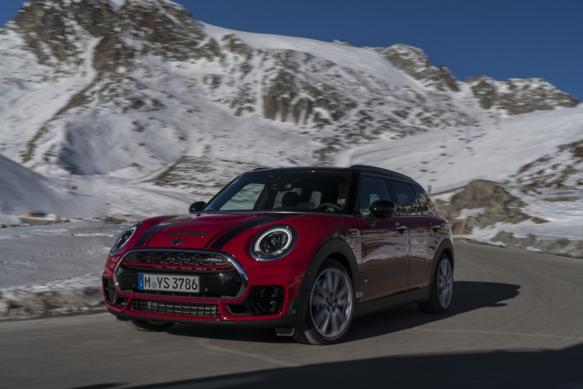 GALLERY: MINI John Cooper Works Clubman shown Image #592569