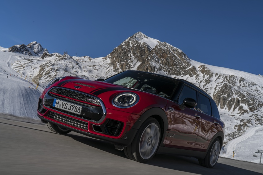 GALLERY: MINI John Cooper Works Clubman shown Image #592570