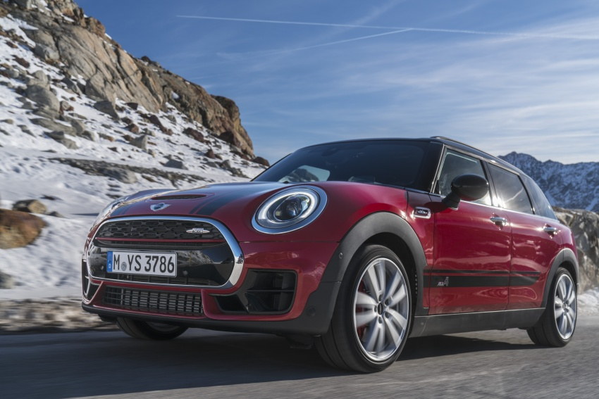 GALLERY: MINI John Cooper Works Clubman shown Image #592571
