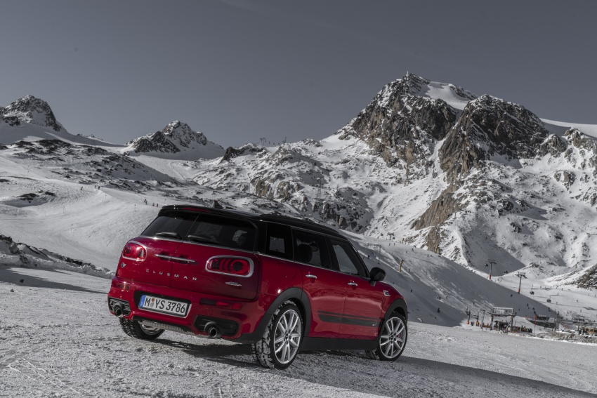 GALLERY: MINI John Cooper Works Clubman shown Image #592525