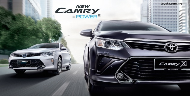 Updated Toyota Camry on sale in Msia from RM153k  two new