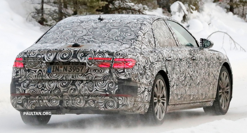 SPYSHOTS: Next Audi A8 goes winter testing Image #596324
