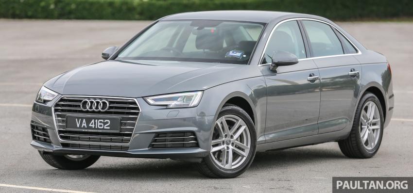 DRIVEN: B9 Audi A4 2.0 TFSI – all prim and proper Image #590870