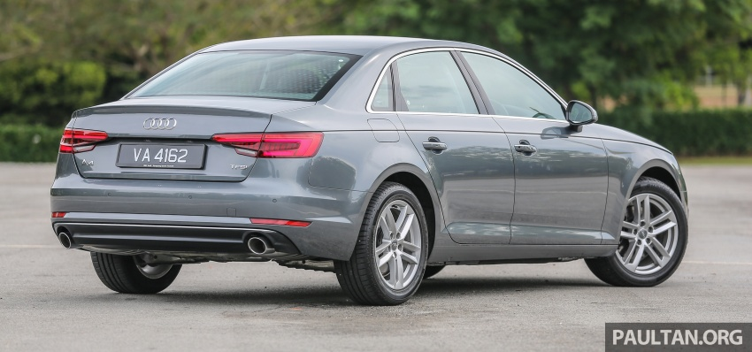 DRIVEN: B9 Audi A4 2.0 TFSI – all prim and proper Image #590879