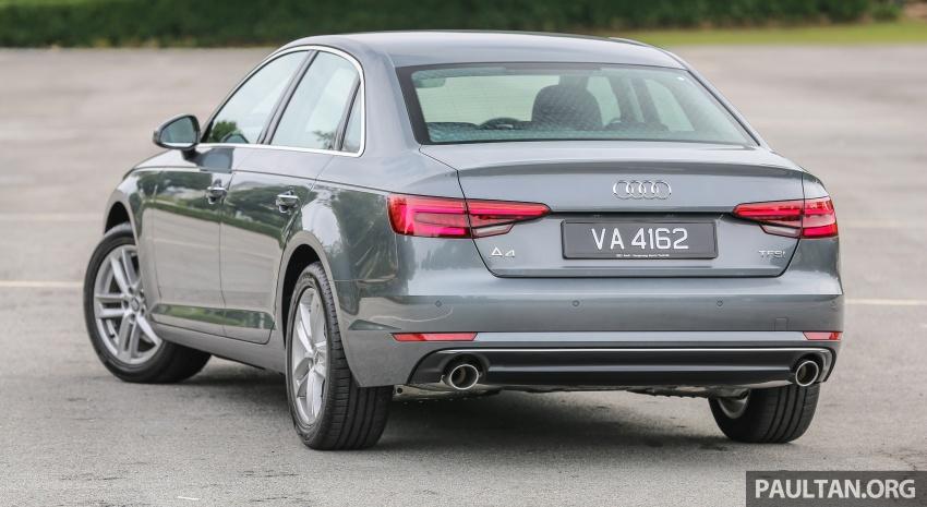 DRIVEN: B9 Audi A4 2.0 TFSI – all prim and proper Image #590880