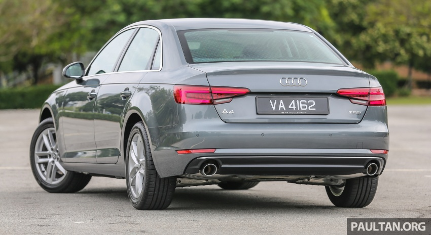 DRIVEN: B9 Audi A4 2.0 TFSI – all prim and proper Image #590881