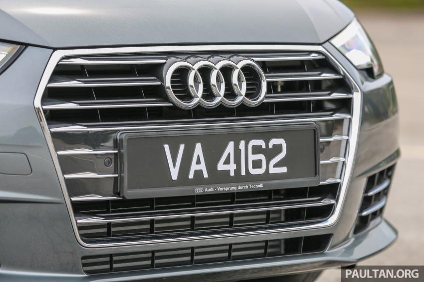 DRIVEN: B9 Audi A4 2.0 TFSI – all prim and proper Image #590888