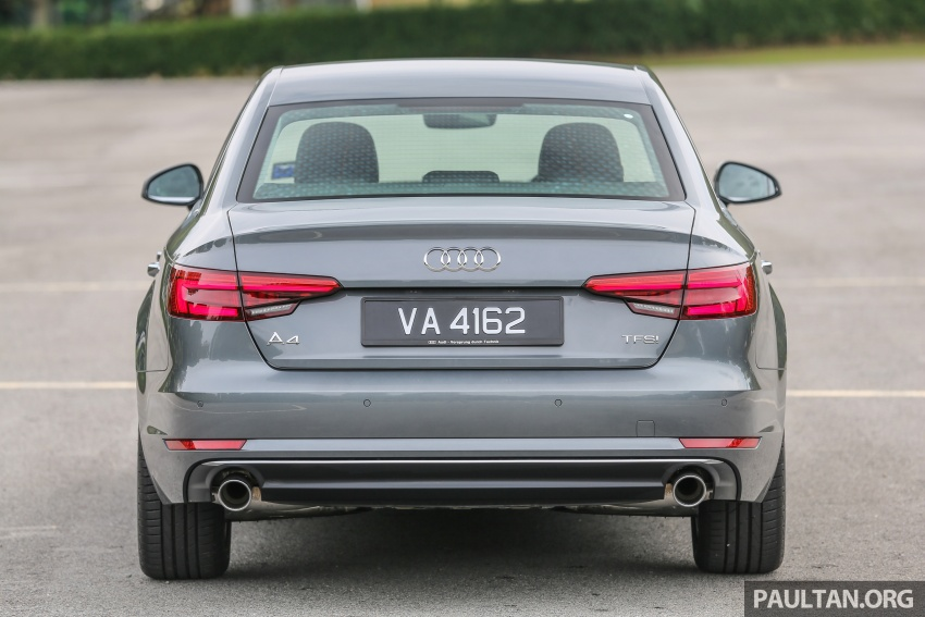 DRIVEN: B9 Audi A4 2.0 TFSI – all prim and proper Image #590876