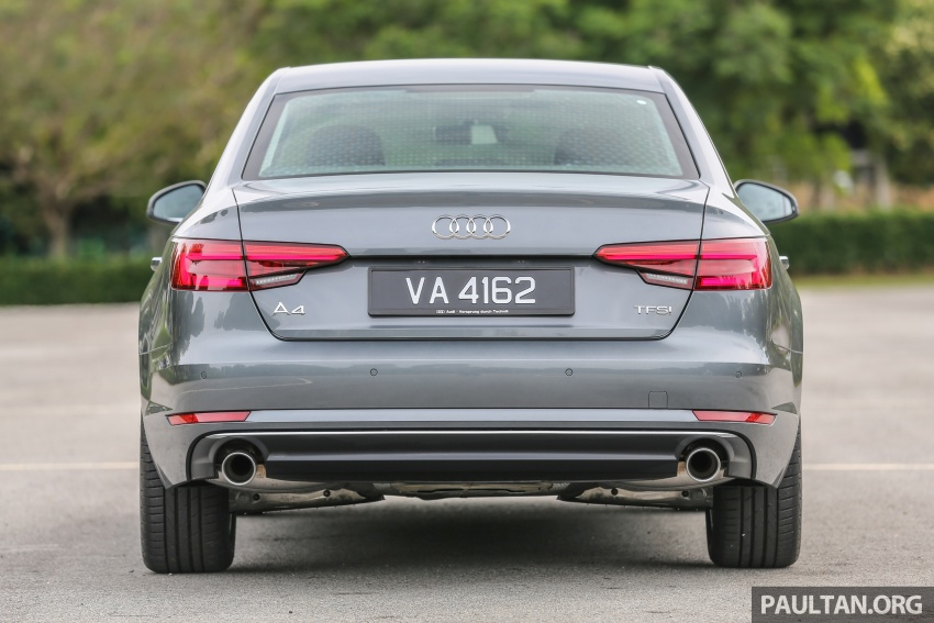 DRIVEN: B9 Audi A4 2.0 TFSI – all prim and proper Image #590877