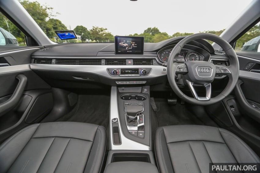 DRIVEN: B9 Audi A4 2.0 TFSI – all prim and proper Image #590903