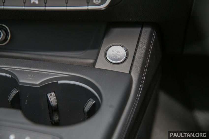 DRIVEN: B9 Audi A4 2.0 TFSI – all prim and proper Image #590923