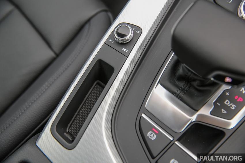 DRIVEN: B9 Audi A4 2.0 TFSI – all prim and proper Image #590928