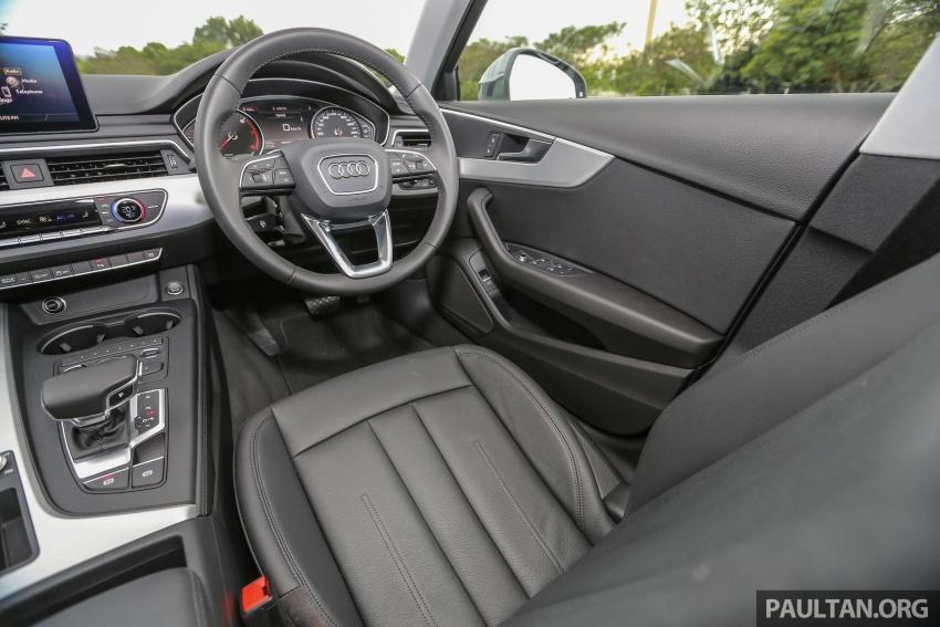 DRIVEN: B9 Audi A4 2.0 TFSI – all prim and proper Image #590942