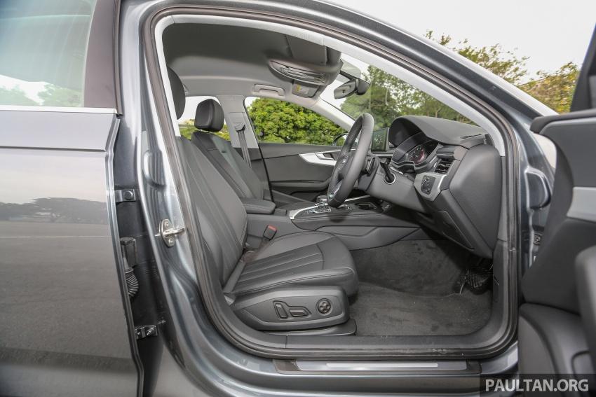 DRIVEN: B9 Audi A4 2.0 TFSI – all prim and proper Image #590943