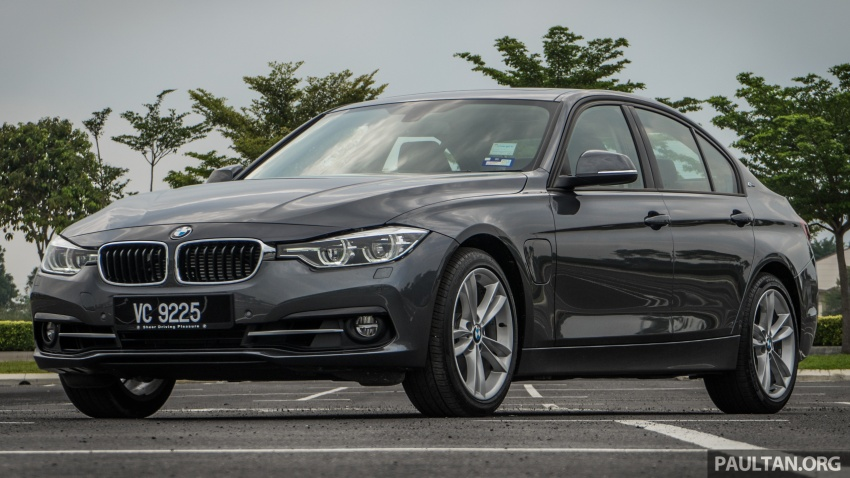 DRIVEN: BMW 330e – it's the future, but with a catch Image #588282