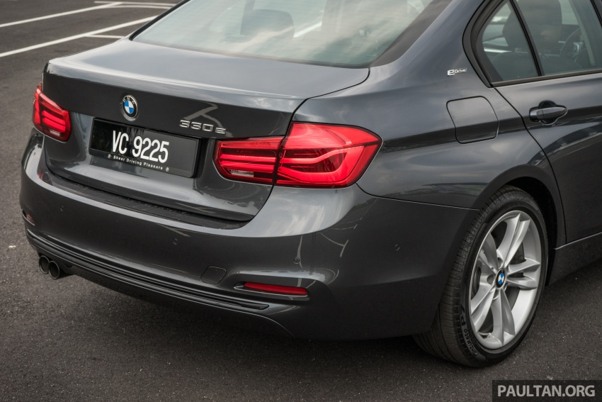 DRIVEN: BMW 330e – it's the future, but with a catch Image #588304