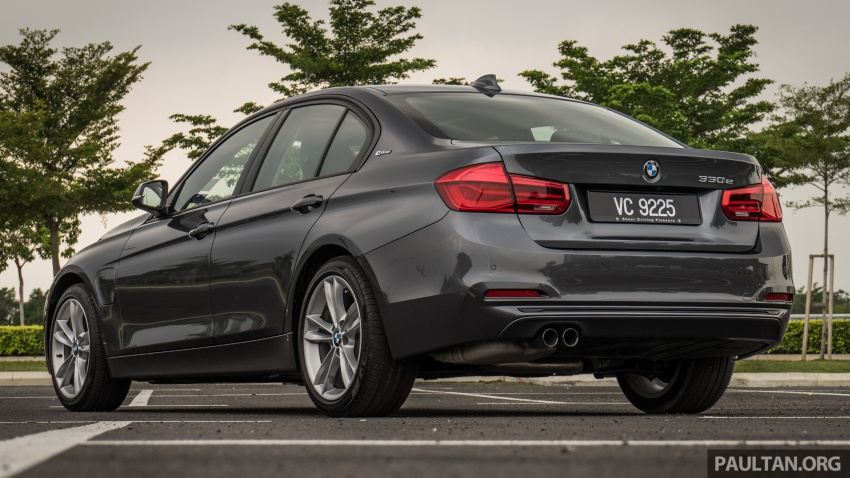 DRIVEN: BMW 330e – it's the future, but with a catch Image #588284
