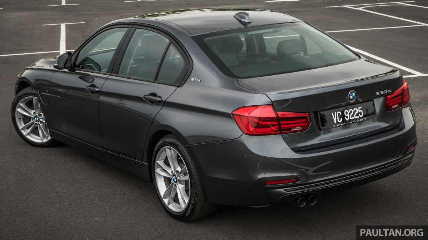 DRIVEN: BMW 330e – it's the future, but with a catch Image #588285