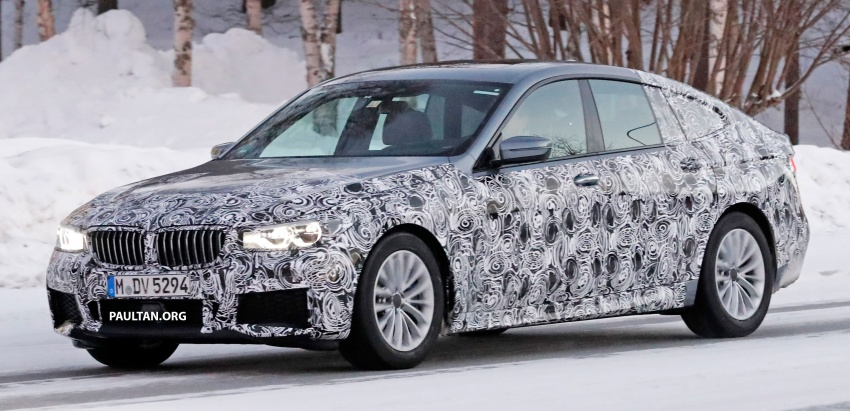 SPYSHOTS: BMW 6 Series GT seen with M Sport kit Image #595030
