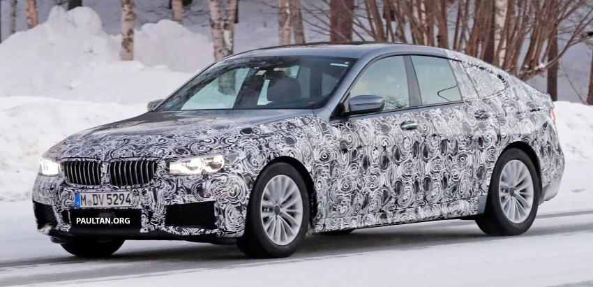 SPYSHOTS: BMW 6 Series GT seen with M Sport kit Image #595030