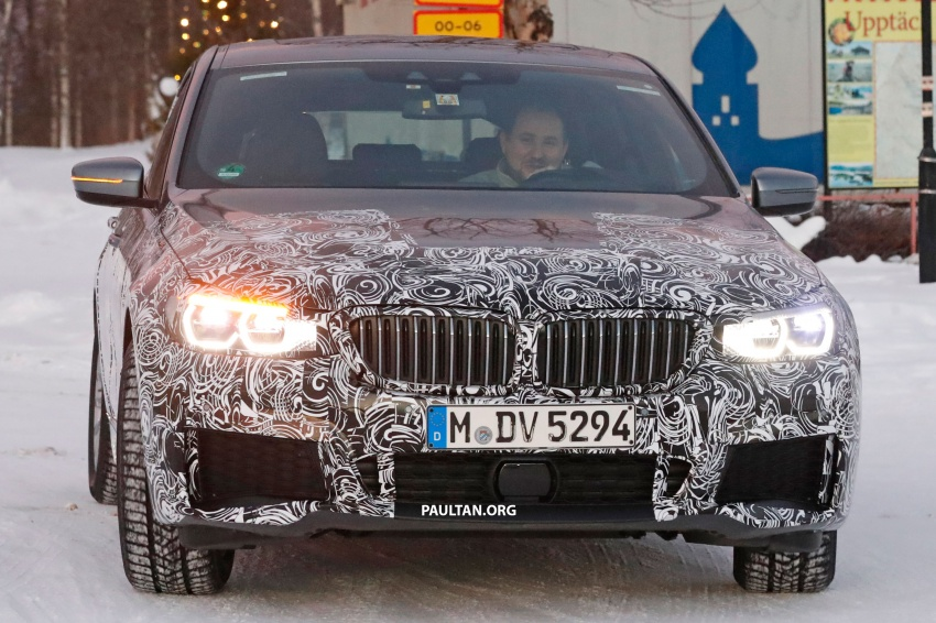 SPYSHOTS: BMW 6 Series GT seen with M Sport kit Image #595046