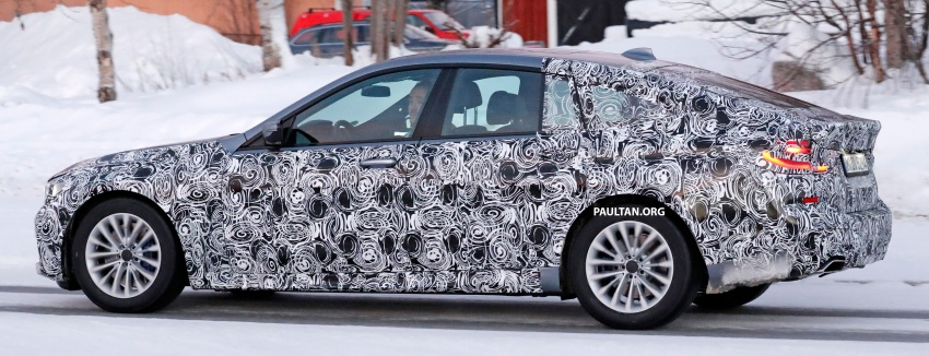 SPYSHOTS: BMW 6 Series GT seen with M Sport kit Image #595039