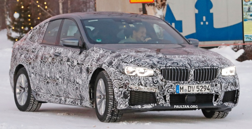 SPYSHOTS: BMW 6 Series GT seen with M Sport kit Image #595043