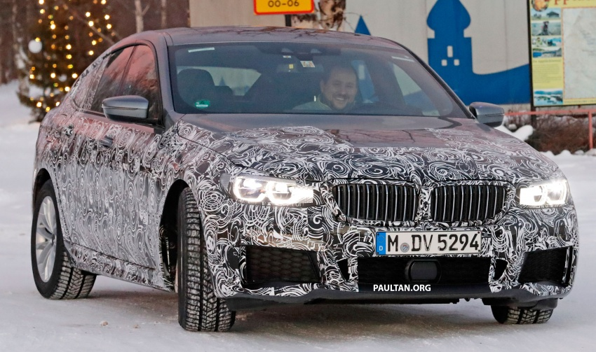 SPYSHOTS: BMW 6 Series GT seen with M Sport kit Image #595045